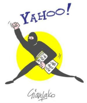 Yahoo! Rubate mail e password di mezzo miliardo di persone