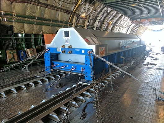 Siemens entrusts Volga-Dnepr with the transportation of 57-tonne generator rotor to Kuwait | Air Cargo