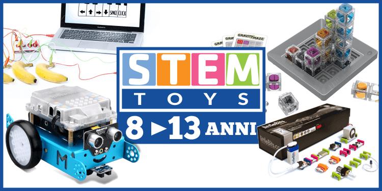 Giocattoli tecnologici e STEM toys per ragazzi di 8 - 13 anni, ecco i più interessanti