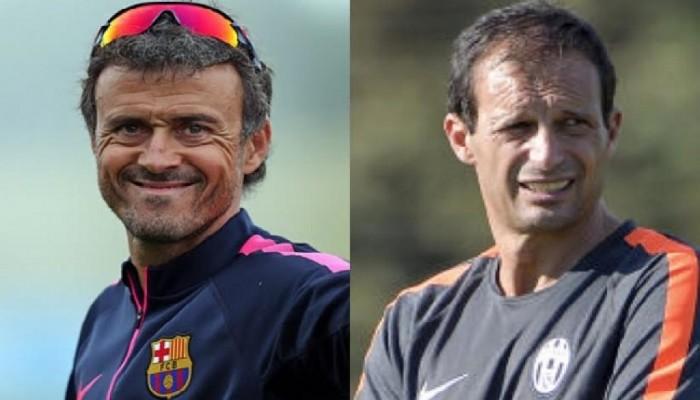 Luis Enrique dà l'addio al Barcellona: a fine stagione Allegri al suo posto?