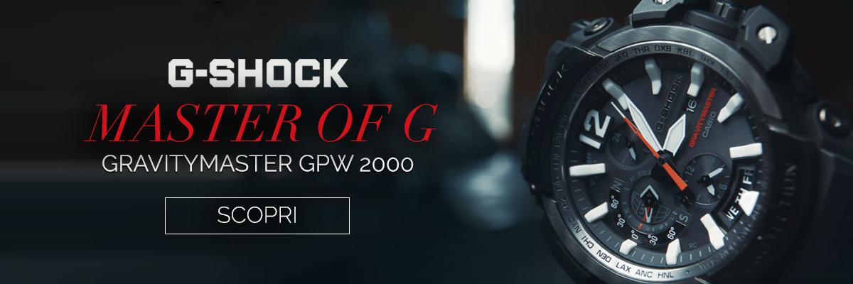Scopri il primo orologio G-SHOCK Bluetooth e GPS: GPW-2000