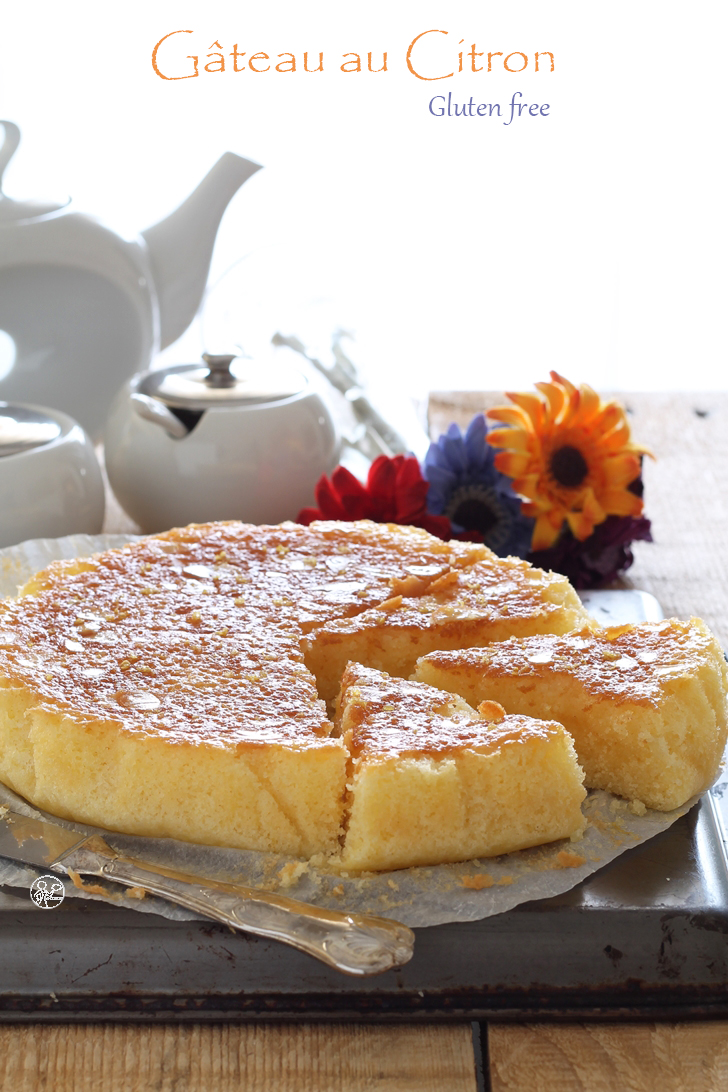 Gâteau fondant au citron sans gluten