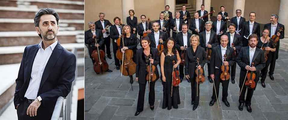 Carlo Rizzari dirige il Concerto per violino K 216 di Mozart con le cadenze di Salvatore Sciarrino.