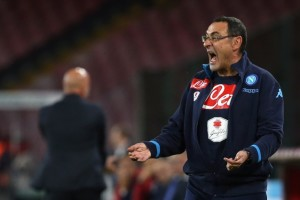 """Napoli – Sarri contento a metà: """"Ansia da risultato? Macchè, troppo leggeri!"""""""