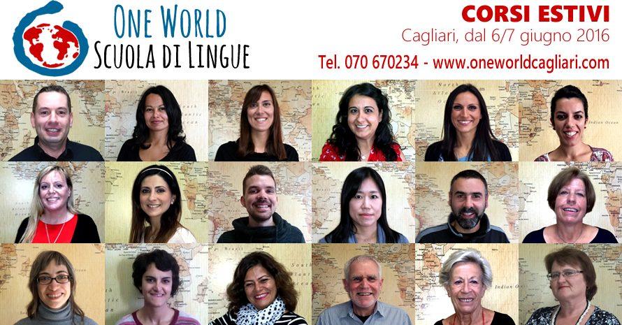 Alla One World corsi estivi di lingue