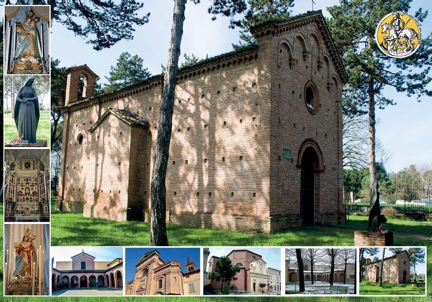 385°Sagra di Pentecoste: San Petronio e la Chiesa di San Sebastiano in cartolina