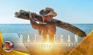 L'Isola dei Famosi 2017, il vincitore è Raz Degan