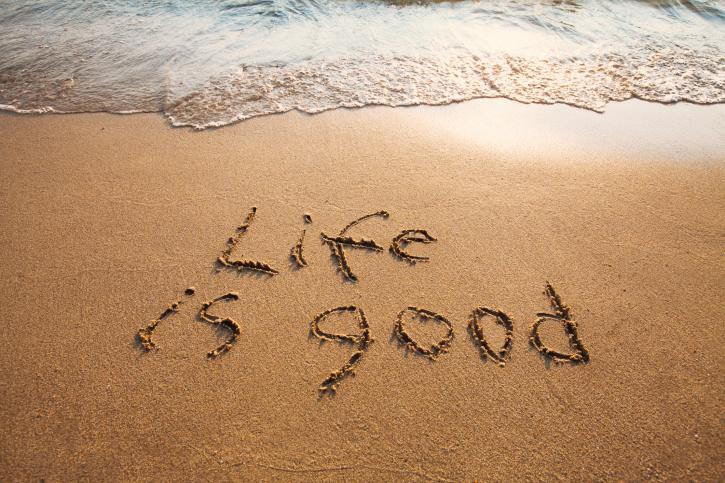 25 Frasi che ti aiuteranno ad essere felice.
