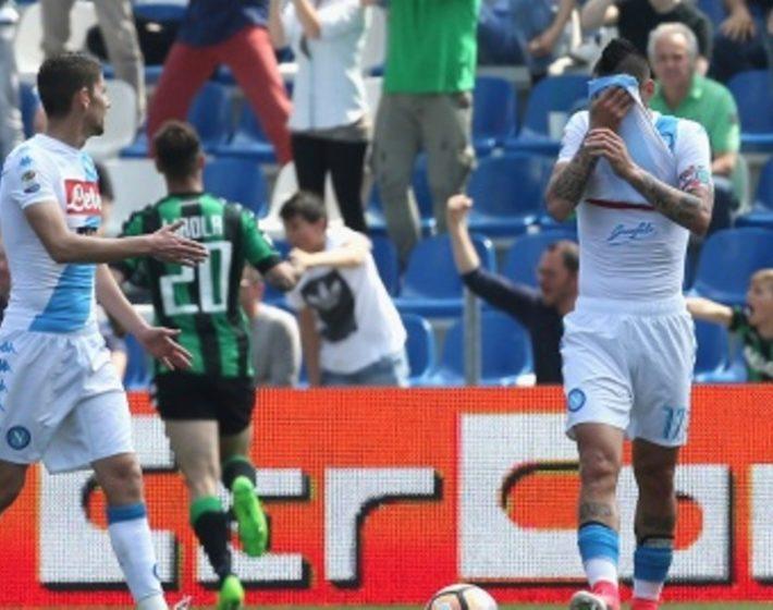 SERIE A - Napoli perde la Champions (diretta) a Sassuolo
