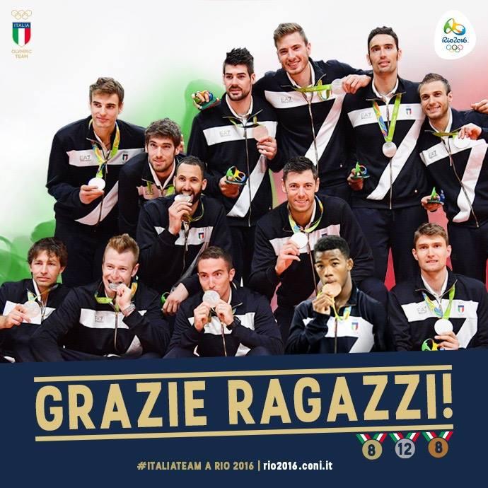 L'Italvolley perde con il Brasile ed è d'argento. Chamizo nella lotta conquista il bronzo.