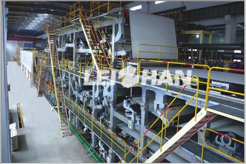 100TPD Waste Newspaper Recycling Line