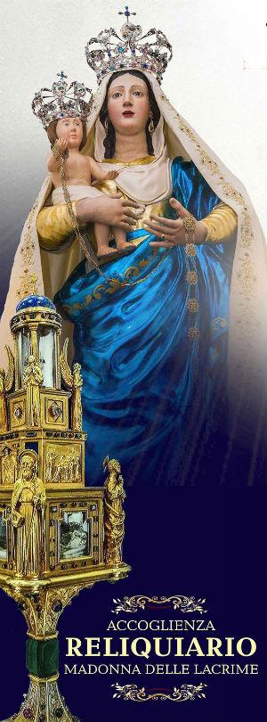 Enna. Festa Madonna della Catena, in arrivo reliquiario Madonna delle lacrime