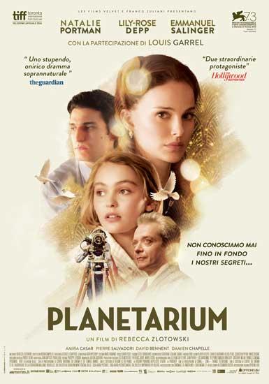 Novità al cinema: il film drammatico PLANETARIUM