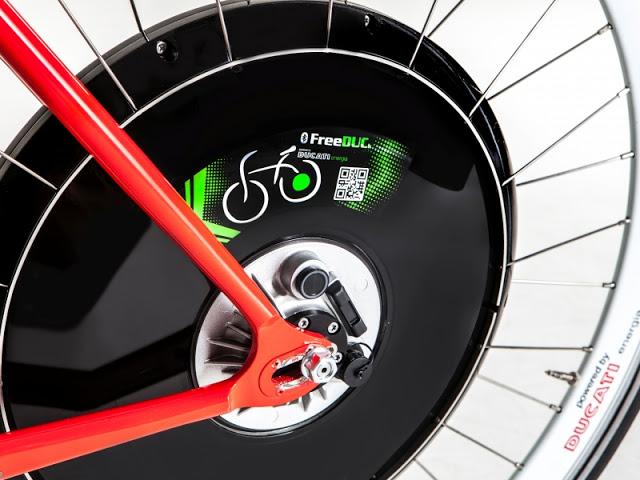 Mobilità soostenibile. Ecco la ruota elettrica Ducati 'Free Duck 2'.