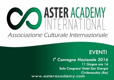 Atteso il primo Convegno Nazionale Aster Academy 2016