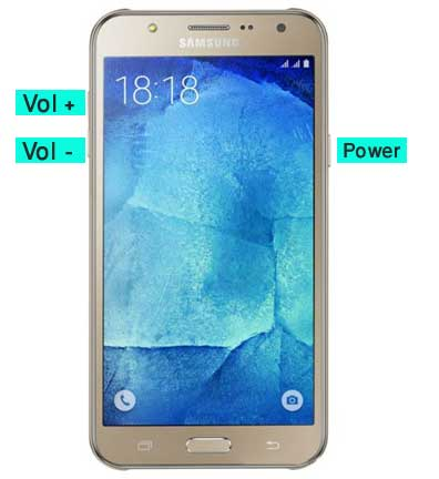 Come fare Hard Reset Samsung Galaxy J7