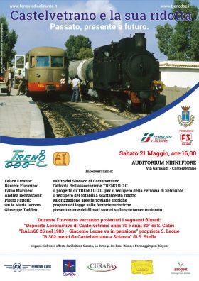 """Un incontro per far rinascere la """"Ferrovia di Selinunte"""""""