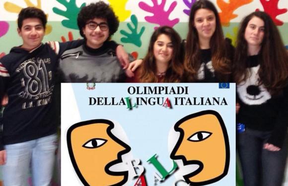 """Alunni del """"Capuana Pardo"""" alle semifinali delle Olimpiadi della Lingua Italiana"""