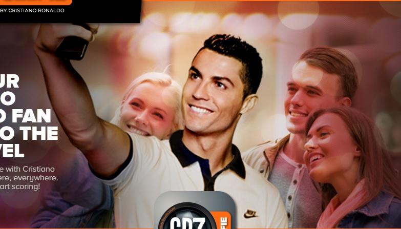CR7 selfie app, l'applicazione per fare selfie con Ronaldo e aiutare Save The Children
