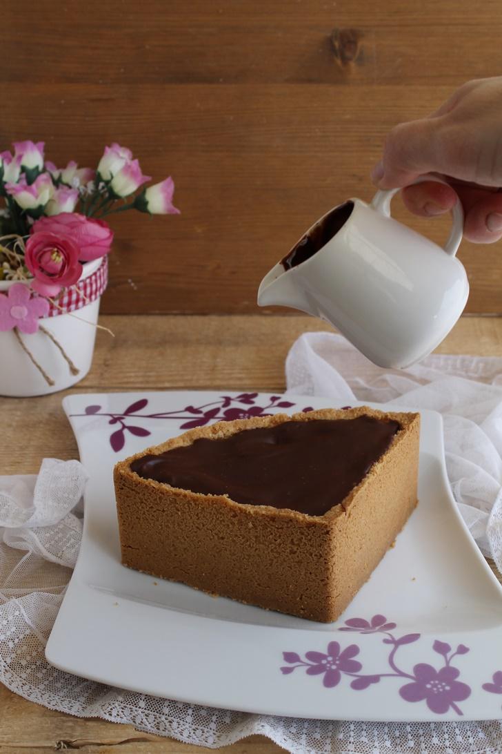 New York Cheesecake au chocolat et sans gluten