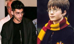 Zayn Malik: look da Harry Potter alla Londra Fashion Week [FOTO]