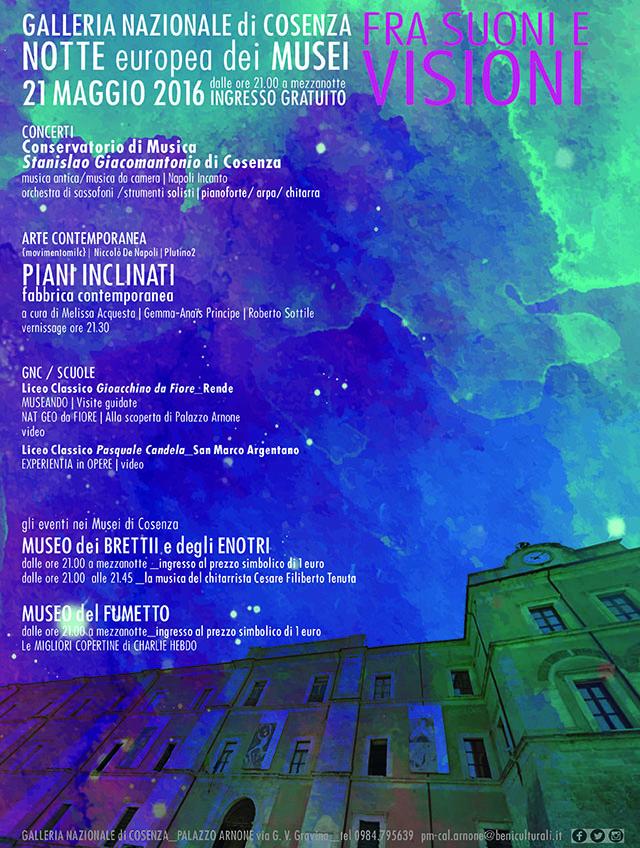 Notte Europea dei Musei 2016 in Calabria