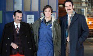 Questo nostro amore 80: il set della fiction con Neri Marcorè e Anna Valle