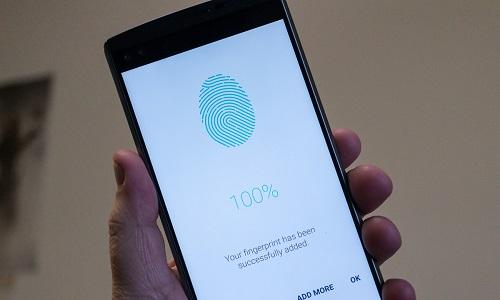 LG studia un lettore di impronte digitali sotto lo schermo