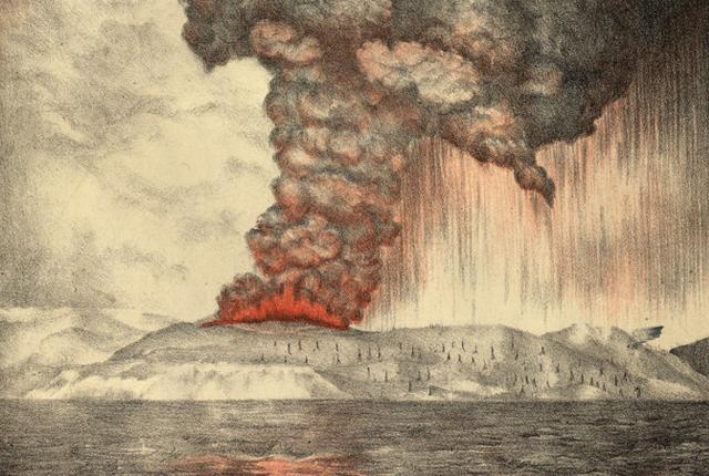 27 agosto 1883: La terribile eruzione del Krakatoa