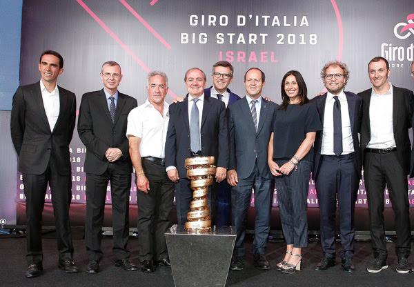 Giro d'Italia 2018 Partenza Gerusalemme: la più grande scommessa di RCS Sport, tra marketing, sicurezza e politica