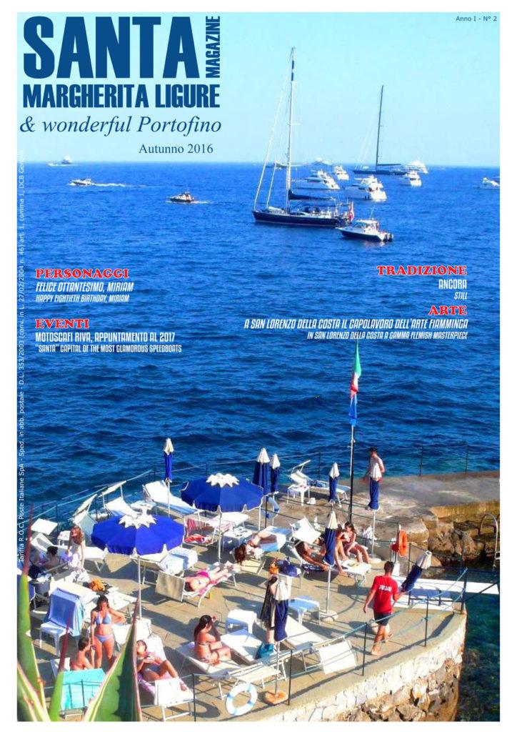 E' online il numero di autunno 2106 della rivista dedicata a Santa Margherita Ligure e Portofino