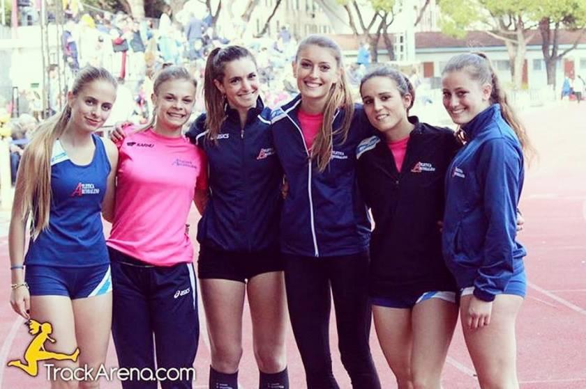 Campionati Italiani Assoluti di Staffette nel borgo di Celle Ligure
