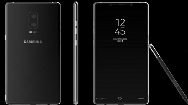 Galaxy Note 8: il più caro mai visto, con audio e postcamera doppi