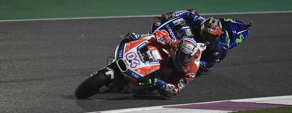 Qatar MotoGP 2017, Dovizioso e Ducati