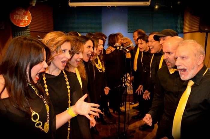 I 40 elementi del Coro Altavoce il 26 ottobre a Roma in Tutti contro tutti