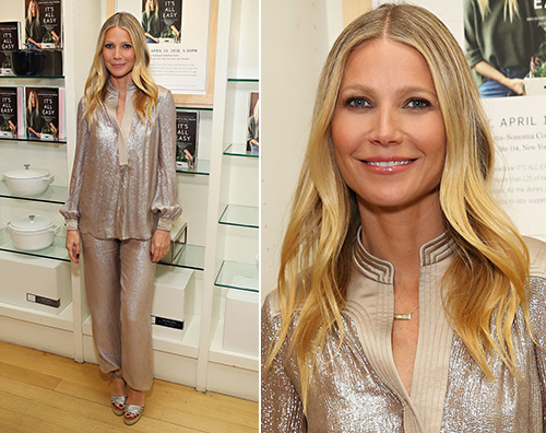 "Gwyneth Paltrow presenta ""It's All Easy"" a New York"