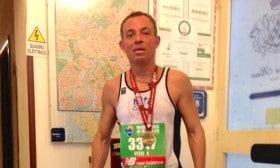 Ottima prova di Vito Tramonte alla grande Maratona di ROMA