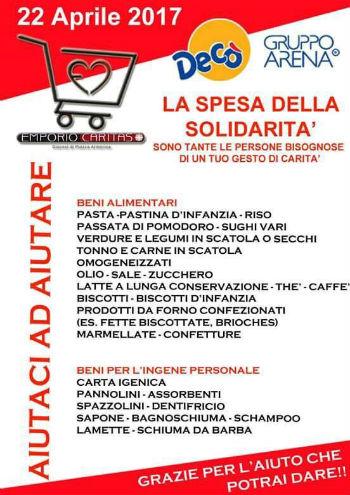 Enna. Associazione Hope: giornata spesa della solidarietà