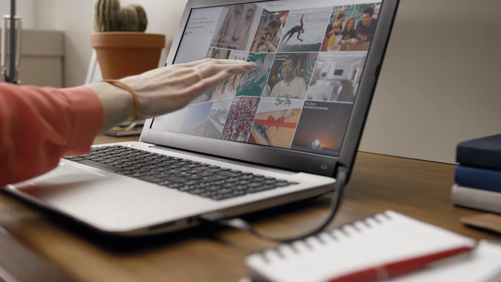Come trasformare lo schermo di un notebook in un touch screen di altissima precisione con Airbar!