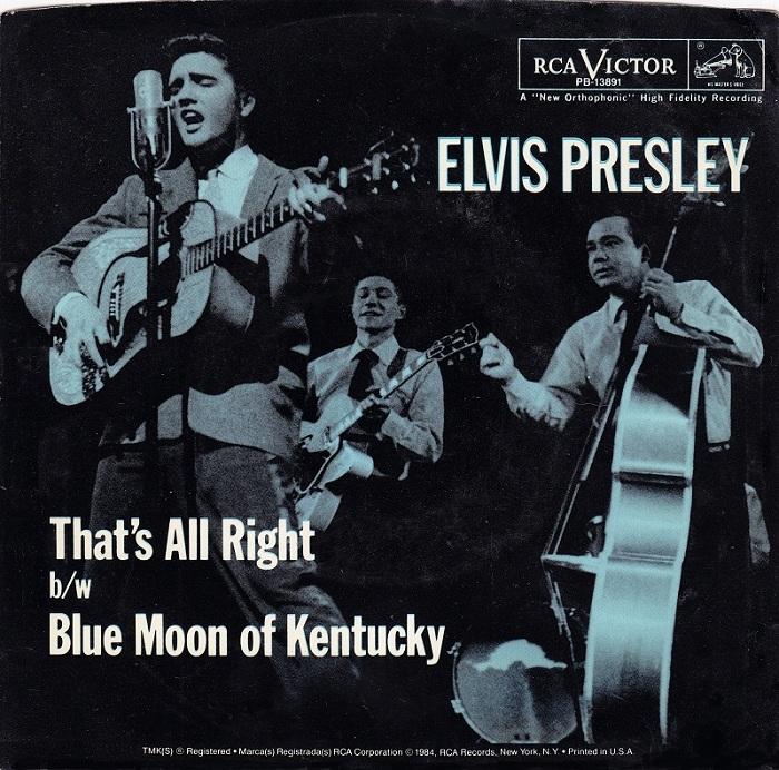 19 luglio 1954: Pubblicato il primo singolo di Elvis Presley