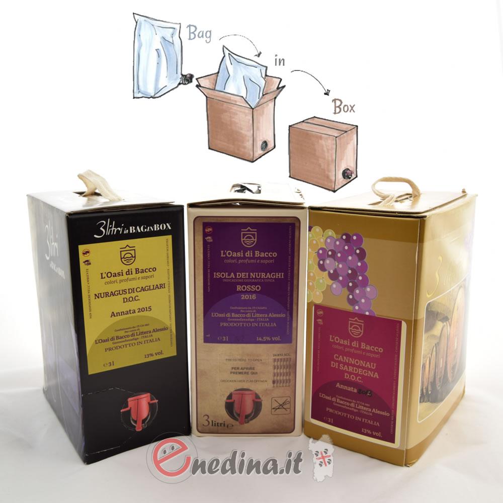 Vino nel Bag in Box: pregi e difetti di un packaging comodo