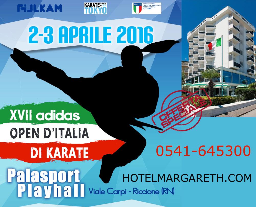 Open d'Italia Karate Riccione 2-3 aprile 2016