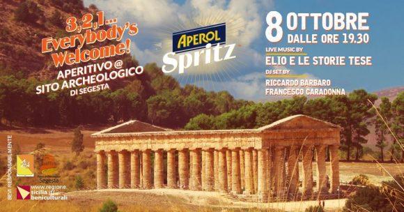 "Evento ""Aperol Spritz"" a Segesta con gli ""Elio e le Storie Tese"""