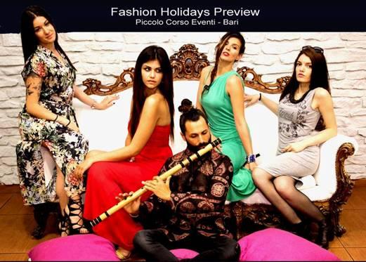 Fashion Holidays ha un GO! Al PICCOLO CORSO EVENTI di Bari presentate le testimonial dell'8.va edizione