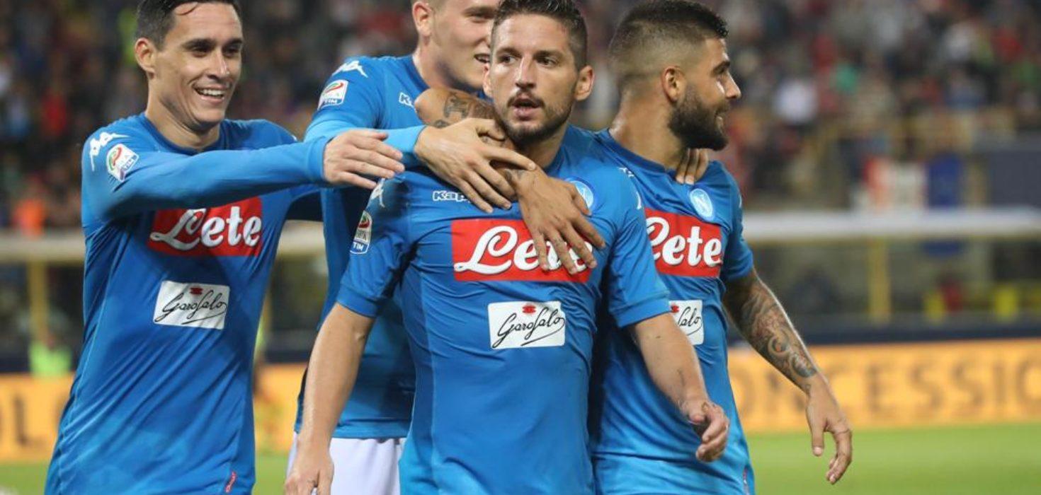 SERIE A - Napoli ancora corsaro a Bologna. Stavolta solo 0-3