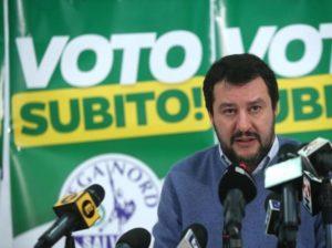Matteo Salvini alla conquista del meridione