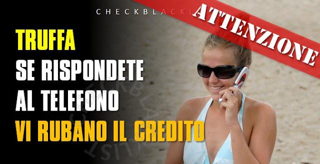 Non rispondete al telefono: ecco come vi rubano il credito