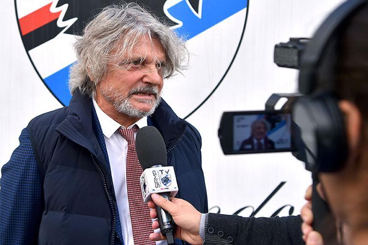Sampdoria, problemi in vista per il presidente Ferrero. I dettagli