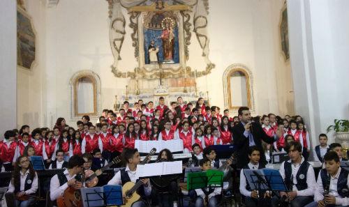 Pietraperzia. Concerto di Pasqua nella chiesa del Rosario