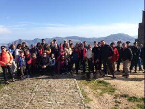 Inaugurati i sentieri trekking dell'Agro-Ericino